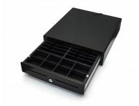 Peňažná zásuvka 24V, čierna s vnútrom