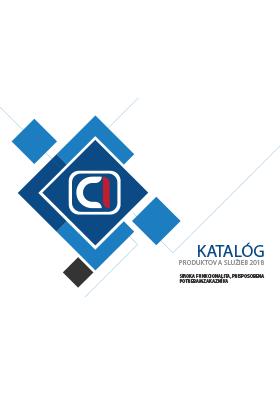 Katalóg produktov a služieb 2018
