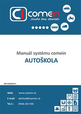 Manuál systému ComeIn.sk pre autoškoly